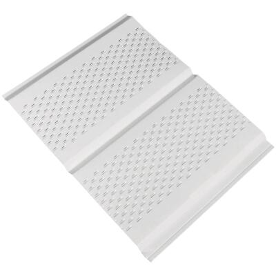 Amerimax 12 Ft. Fully Vented Aluminum Soffit