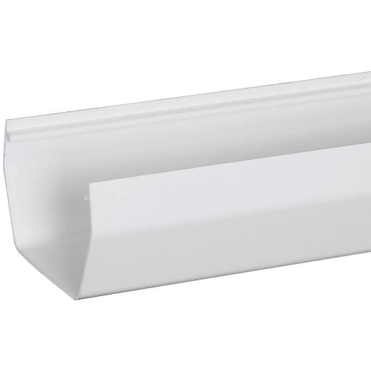 Amerimax 5 In. Contemporary White Vinyl Gutter 10 Ft.