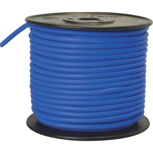 ROAD POWER 100 Ft. 10 Ga. PVC-Coated Primary Wire, Blue